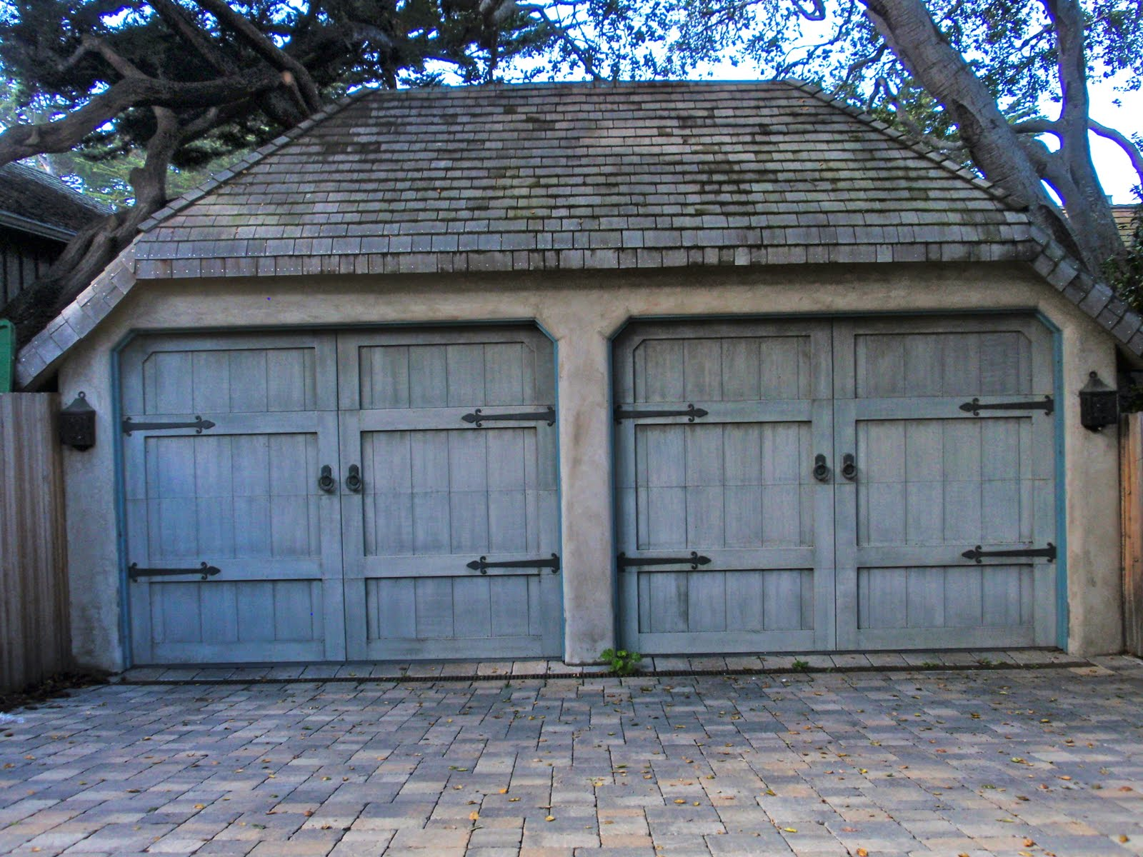 Carport With Garage Door : Th and state have you decorated your garage lately