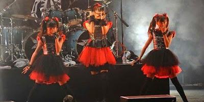Tampil Bareng Iron Maiden - Lady Gaga, Baby Metal Makin 'Cadas'!