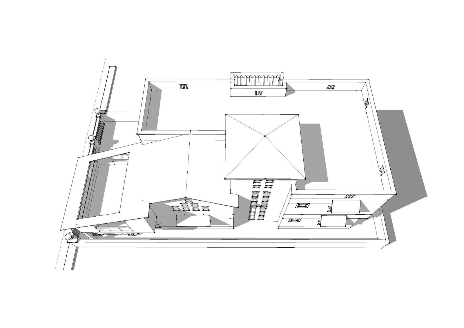 ... front elevation models renaissance vinod vijay house sketchup models