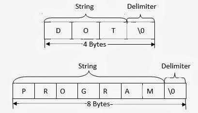 What is Varaible Length String Format in Computer Programming: C Language