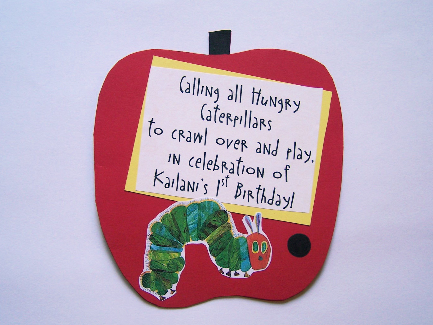 Party Accessories*: A Very Hungry Caterpillar Birthday