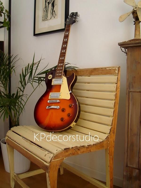 Silla vintage de madera de haya