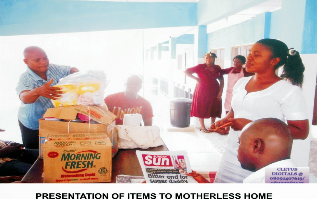 5 village youths in Eket visits motherless home