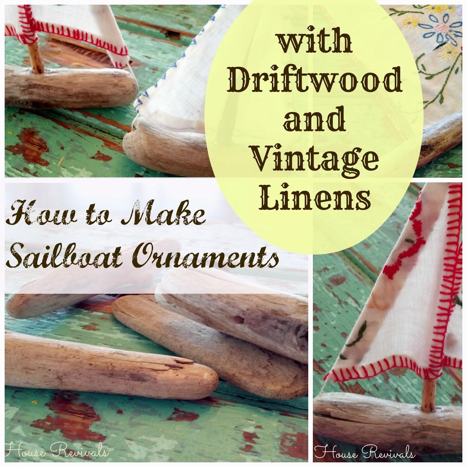 Make A Driftwood Sailboat Ornament