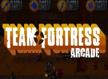 غلاف لعبة فريق القلعة Team Fortress Arcade