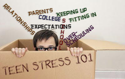 Helping teens deal with stress