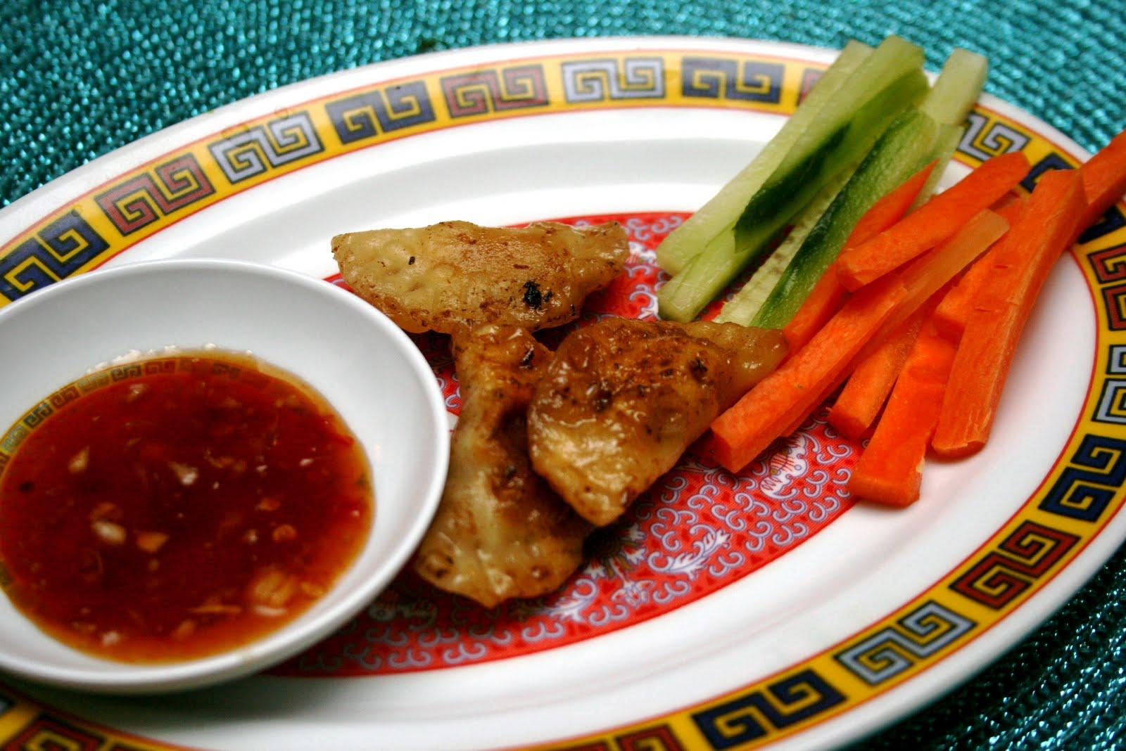 dumplings sås recept