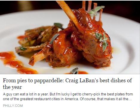 Best of Craig Laban 2015