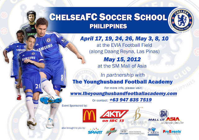 Chelsea Soccer School flyer
