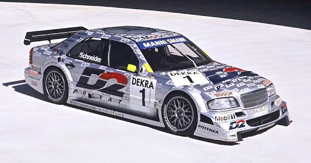 Mercedes-Benz 190E 2.5-16 Evolution II, ganador en 1992 del DTM