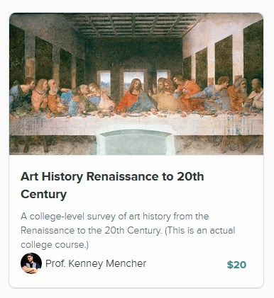 http://art-and-art-history-academy.usefedora.com/courses/art-history-renaissance-to-20th-century