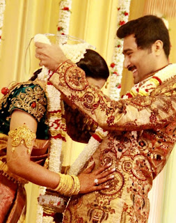Sneha and Prasanna Wedding Reception Images