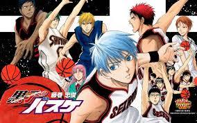Poster kuroko no basket atau kurobas