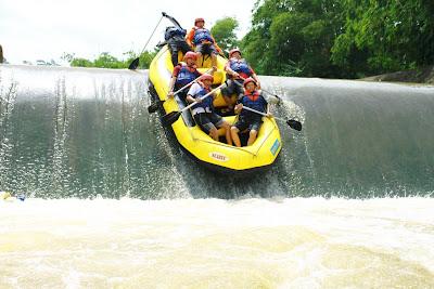 Rafting Sungai Cisadane Bogor
