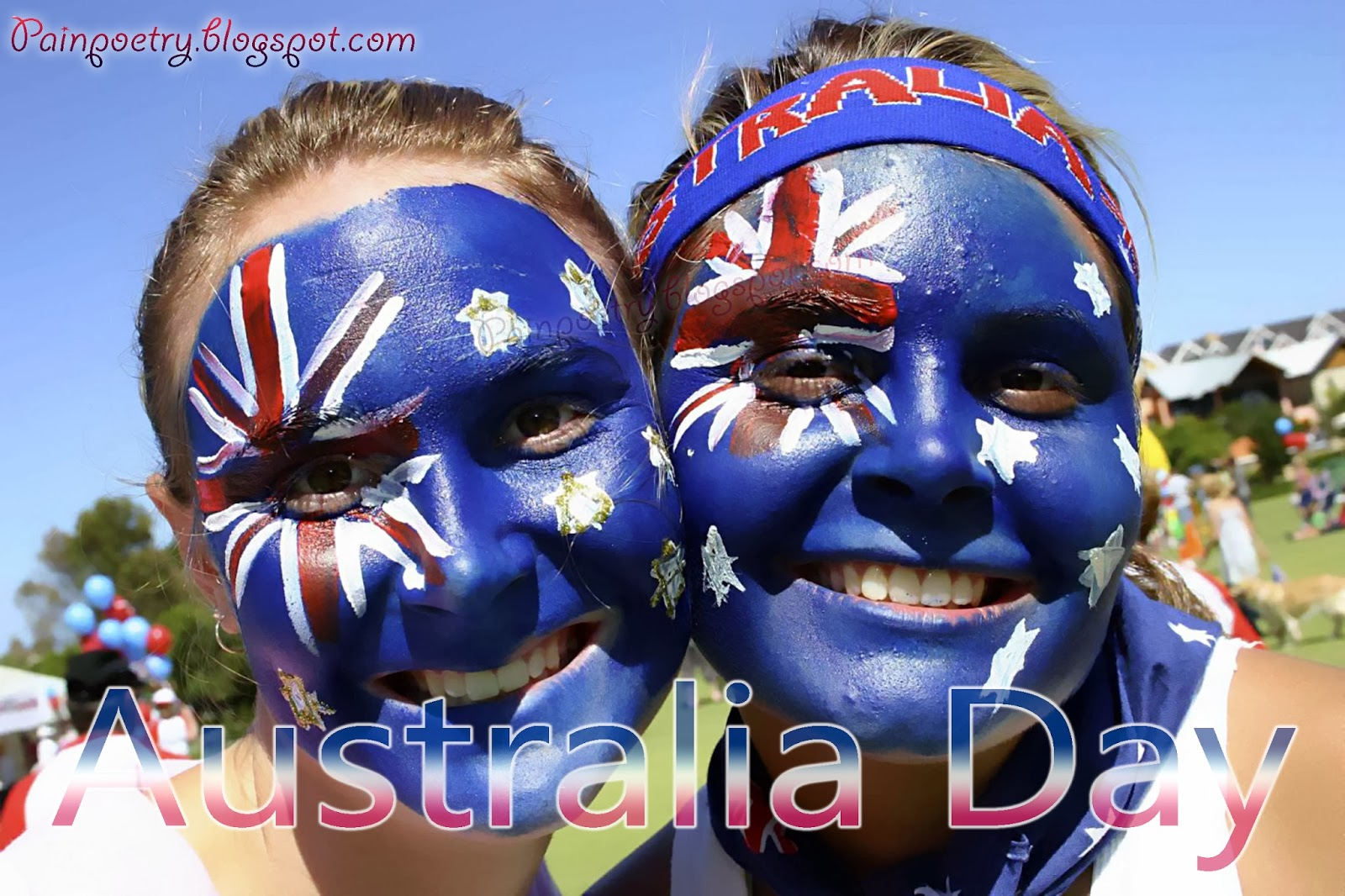 Painting-On-Face-Is-A-Must-When-Celebrating-Australia-Day-26-January-2014-Image-HD