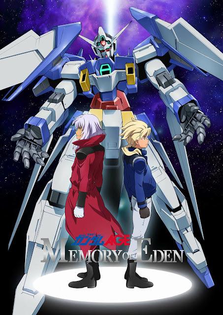 [ANIME NEWS] Gundam AGE: Memory of Eden's Promo Streamed 1