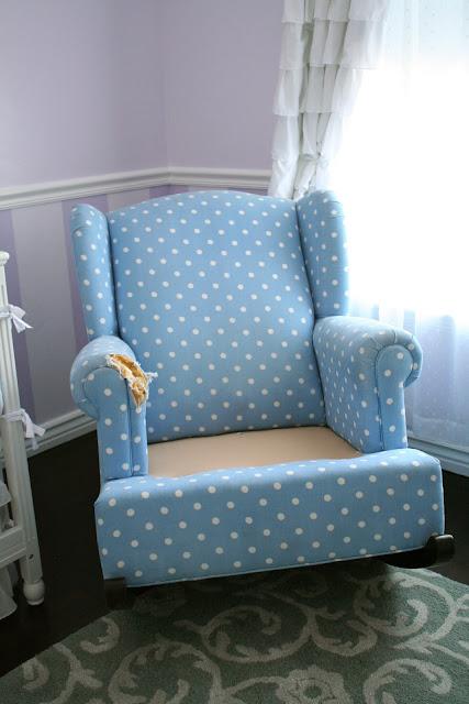 Custom Slipcovers By Shelley Nursery Rocker Chair