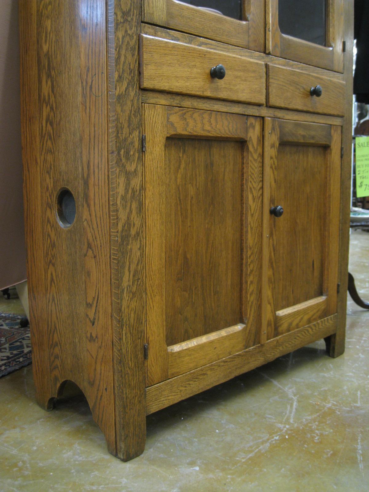 Antique furniture, China cabinet Pie Safe - Antiques, Art, And Collectibles: Antique Furniture, China Cabinet
