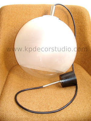lamparas retro bola de los años 70