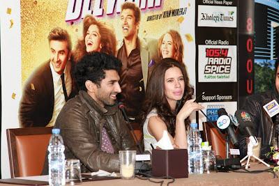 Ranbir Kapoor & others at  YJHD promotions