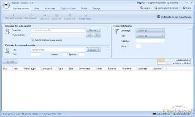 Software Pencari Subtitle .Srt