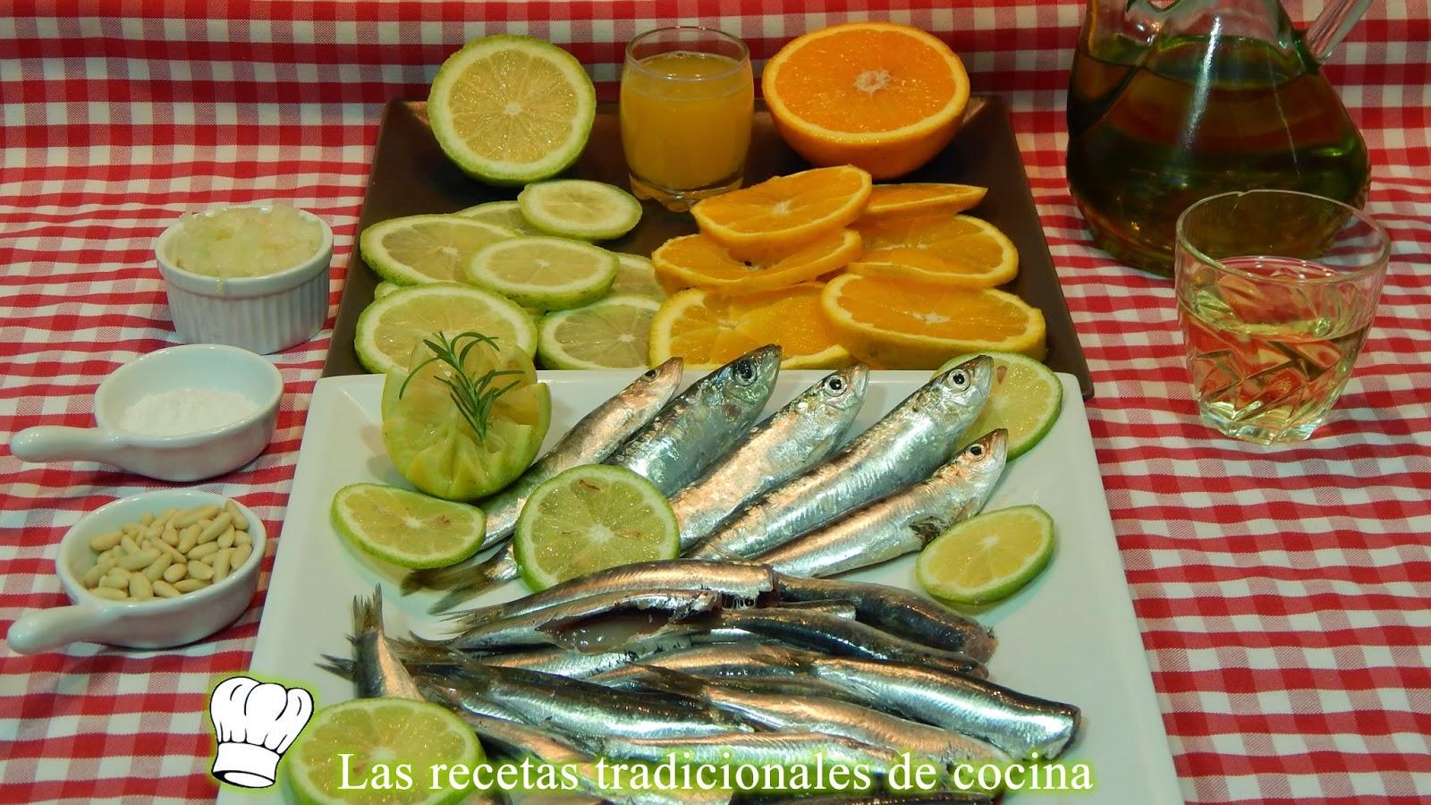Receta de sardinas a la Valencina