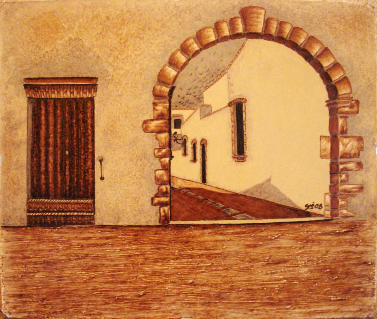 Le pirografie di gi porta ad arco - Porta ad arco ...