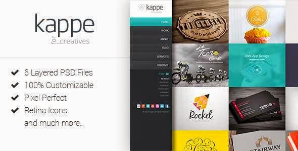 Kappe - Creative Full Screen Joomla Template