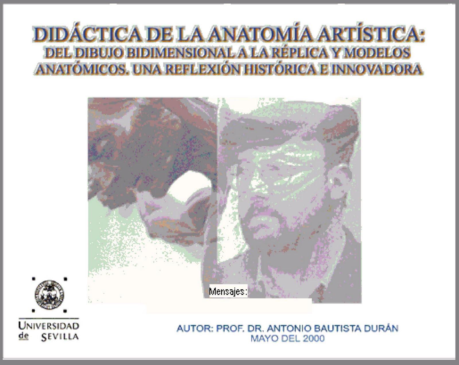 ARTANA. Plástica y Arte Anatómico.: DIDÁCTICA DE LA ANATOMÍA ...