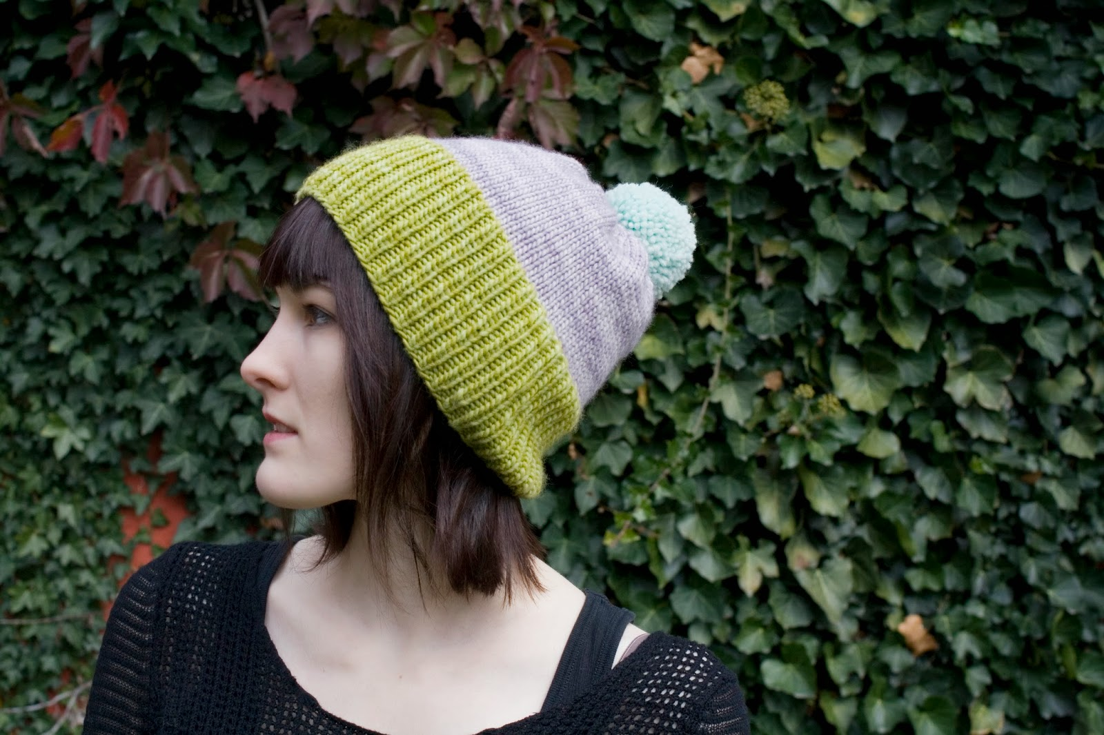 Dull Roar- Knit hat by Alex Tinsley