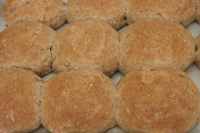 Herb & Seed Bread Rolls