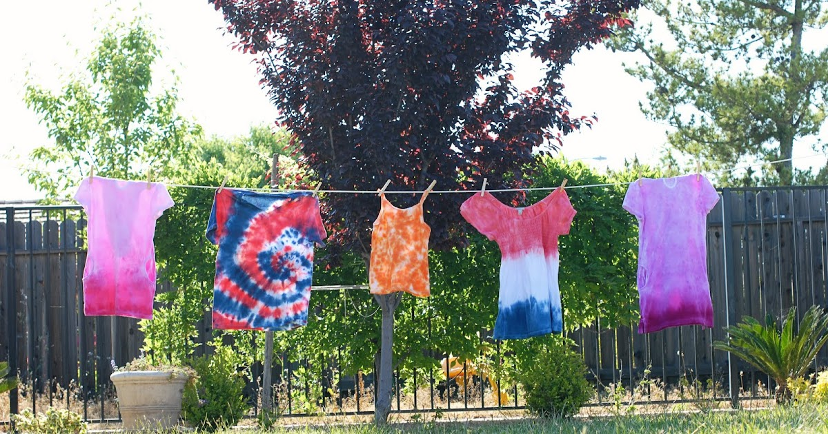 Frankly Speaking Too: iLoveToCreate: A Variety of Tie Dye ...
