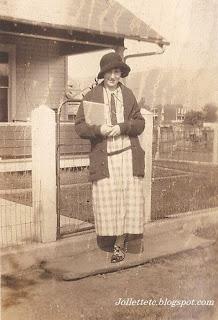 Velma Davis 1924 Shenandoah, Virginia