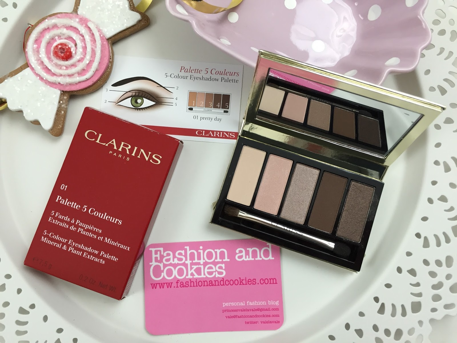 Clarins Pretty Day Eyeshadow palette Limited Edition recensione on Fashion and Cookies fashion blog, fashion blogger style