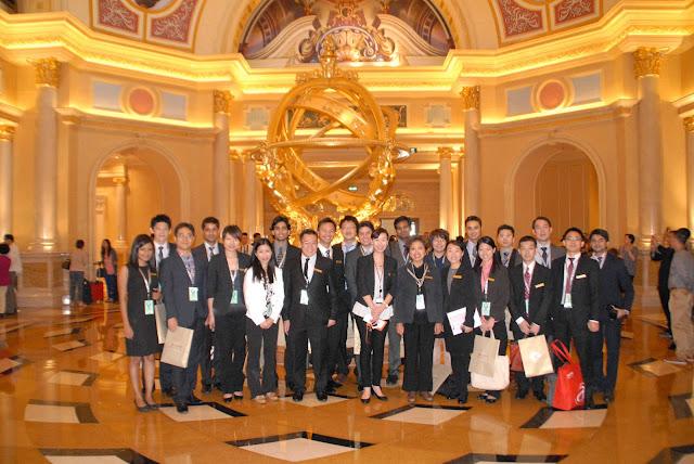 NUS MBA students in Macau