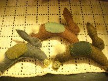 Wool Rolling Bunny Tutorial