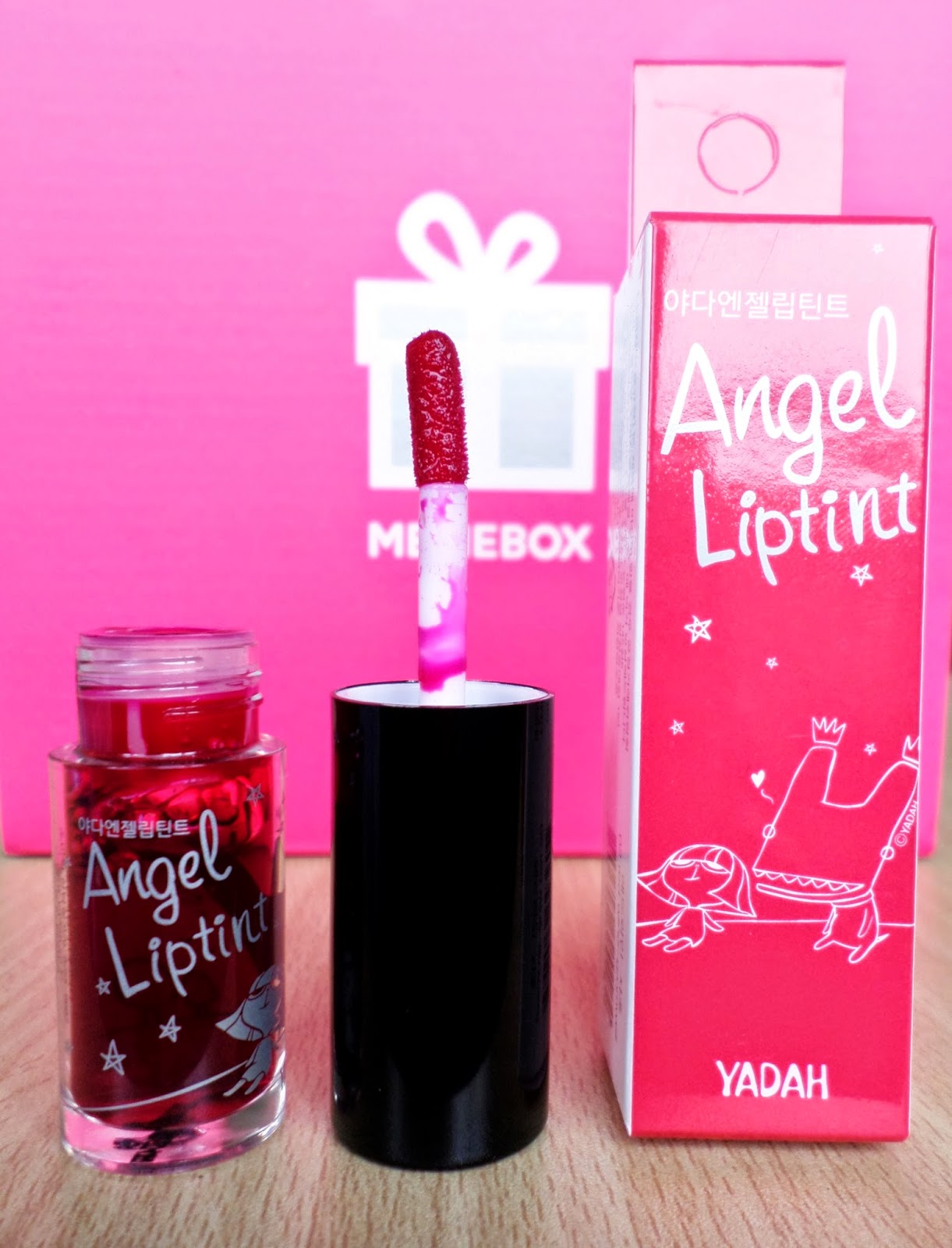 YADAH Angel Lip Tint 02 Red-Wine Gromwell 24g rrp $8