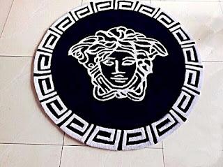 Woolen Versace rug