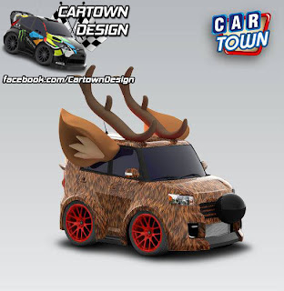 Scion xB Reindeer 2008 Fur