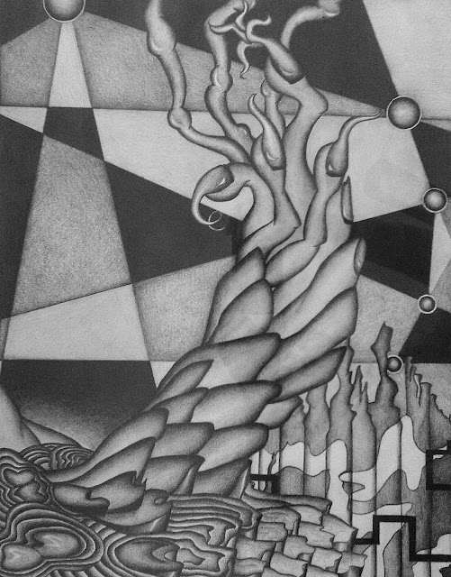 ©2014 Lauren T Kistner, graphite illustration, 2001, all rights reserved