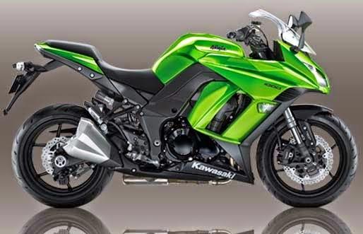 Gambar Motor Kawasaki Keren