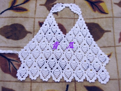 Crocheting On Top Of Crochet : Patron Crochet Top sin espalda - Patrones Crochet