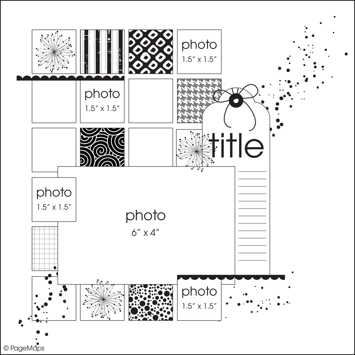 Scrapbook Layout Sketches For this layout i used the