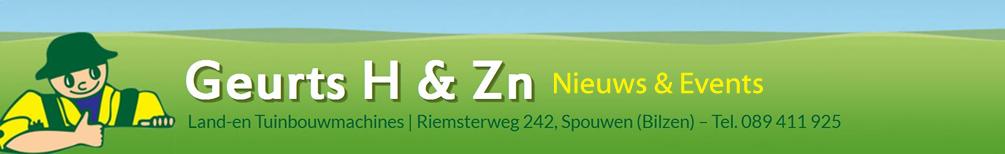 Geurts H & Zn, Land-en Tuinbouwmachines