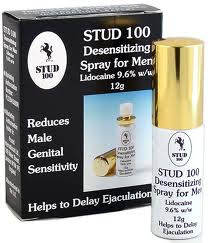 STUD100, spray Inglés.