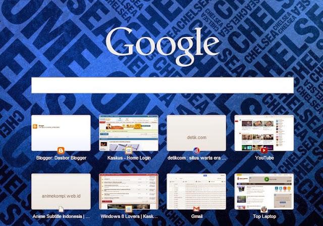 Cara Mengganti Background Google Chrome