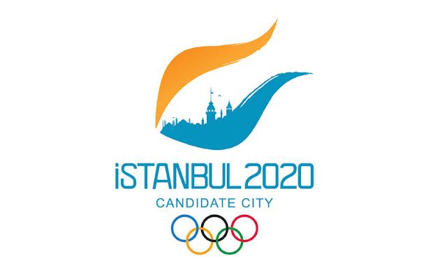 seçilen istanbul 2020 olimpiyat logosu