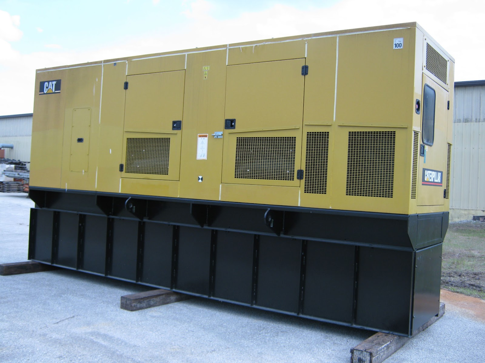 Global Power Generation Market Place Low Hour 2006 Caterpillar