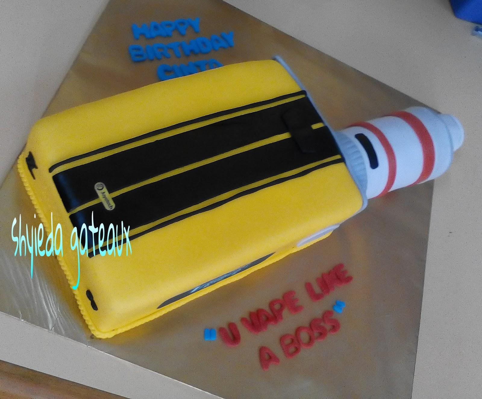 Shyieda Gateaux Homemade Melaka Vape Cake