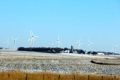 wind farm, southwestern Minnesota